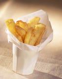 Cono de patatas fritas Fotos de archivo libres de regalías