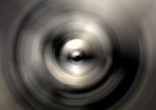 Cono de plata abstracto Imagen de archivo libre de regalías