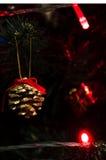 Cono del nuovo anno Fotografie Stock