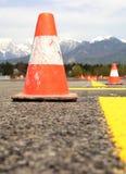 Cono del tráfico Fotos de archivo