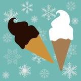 Cono di gelati Fotografia Stock
