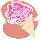 Cono di gelato Fotografie Stock Libere da Diritti