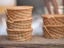 Cono di gelato Fotografia Stock