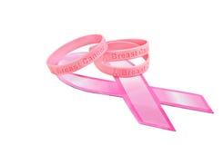Conocimiento del cáncer de pecho Fotografía de archivo libre de regalías
