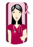 Conocimiento del cáncer de pecho Imágenes de archivo libres de regalías