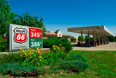 Conoco Gas Station Stock Photos