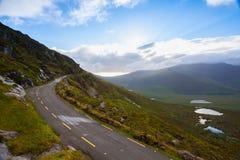 Conor Pass é a passagem de montanha a mais alta na Irlanda Imagens de Stock Royalty Free