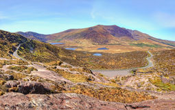 Conor Pass in the mountains of Dingle, Ireland. Royalty Free Stock Photos