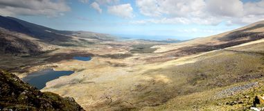 Conor pass panorama Stock Photography