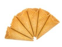 Conos de helado Imágenes de archivo libres de regalías