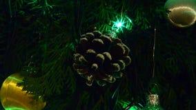 Conos y luces de la Navidad metrajes