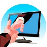 Conoscenza attraverso Internet Immagini Stock