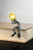 Conoscenza dal libro Fotografia Stock Libera da Diritti