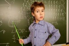 Conoscenza nel per la matematica Immagini Stock