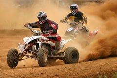 Conpetition di motocross Fotografia Stock