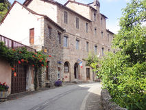 Conques street,  France Stock Photos