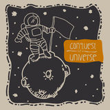 Conquest the universe Stock Photos