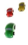 Conquista del legno del giocattolo della macchina da corsa Fotografie Stock Libere da Diritti