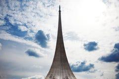 Conquistadores do monumento do espaço no parque fora imagem de stock