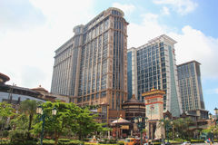 Conrad Macao Cotai Central in Macau Stock Image