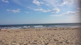 Conrad& x27; s海滩 库存照片