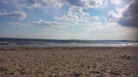 Conrad& x27; s海滩 库存图片