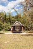 Conrad Schlender Cottage 1903 no parque estadual histórico de Koreshan foto de stock royalty free