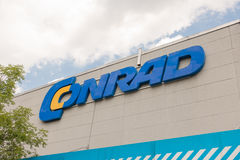 Conrad sign Royalty Free Stock Photo