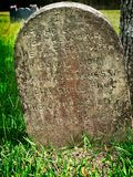 Grave Stone John 8:12 stock images