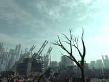 Conséquence d'Armageddon Image libre de droits