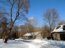 Conséquence 2018 du Connecticut de tempête de neige photos libres de droits