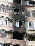Conséquences d'incendie Image libre de droits