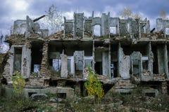 Conséquences de guerre en Bosnie Photographie stock
