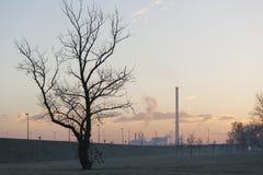 Conséquences de pollution images libres de droits