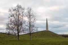 Consacré commémoratif à l'anniversaire de la libération de Tallinn image stock