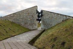 Consacré commémoratif à l'anniversaire de la libération de Tallinn photos stock