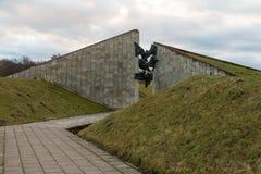 Consacré commémoratif à l'anniversaire de la libération de Tallinn images libres de droits