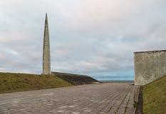 Consacré commémoratif à l'anniversaire de la libération de Tallinn photographie stock