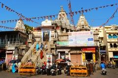 Consacré par Shri Jagdish Temple dans Udaipur, le Ràjasthàn, Inde Image stock