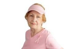 Consapevolezza del cancro della mammella Fotografia Stock Libera da Diritti