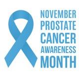 Consapevolezza del carcinoma della prostata Immagine Stock Libera da Diritti