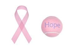 Consciência do cancro da mama imagens de stock