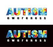 Conscience d'autisme Photographie stock