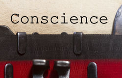 Conscience Stock Photography