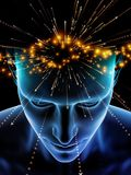 Conscience virtuelle Illustration de Vecteur