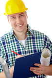 Conscientious foreman Stock Image