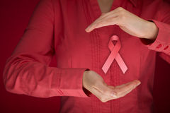 Conscientização do câncer da mama Fotografia de Stock Royalty Free
