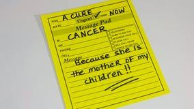 Conscientização e prevenção do câncer Imagens de Stock