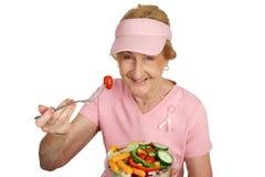 Consciência do cancro da mama - cure Fotos de Stock Royalty Free
