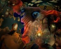 consciousness ilustração do vetor
